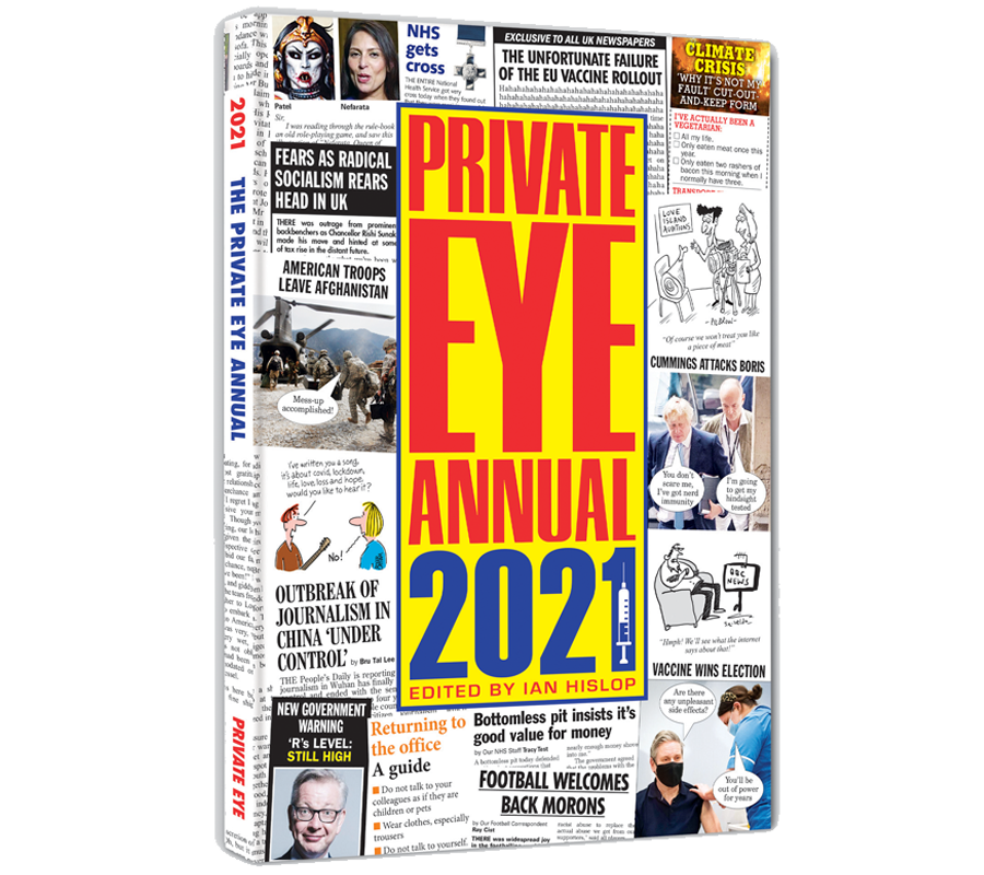 Private Eye Annual 2021