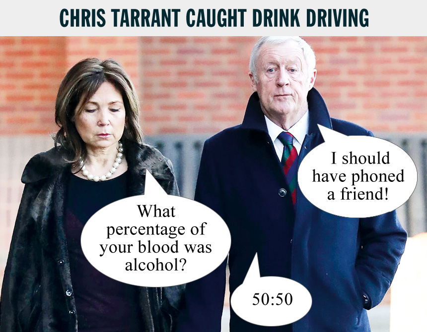 Chris tarrant virginity