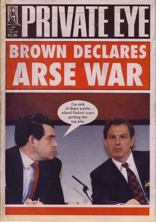 Tony Blair Gordon Brown