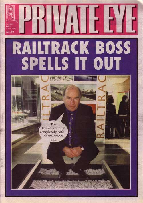 Railtrack Gerald Corbett