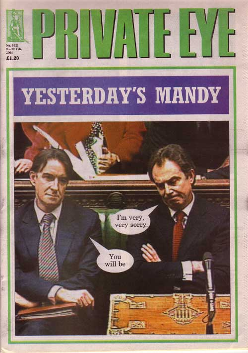 Tony Blair Peter Mandelson