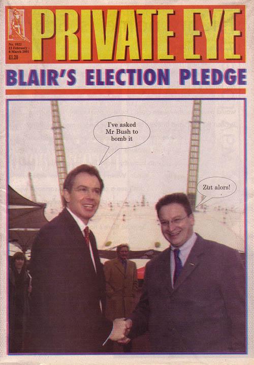Tony Blair Pierre-Yves Gerbeau