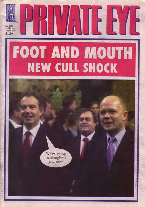 Tony Blair William Hague John Prescott