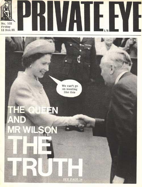 The Queen Harold Wilson