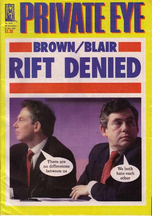 Tony Blair Gordon Brown