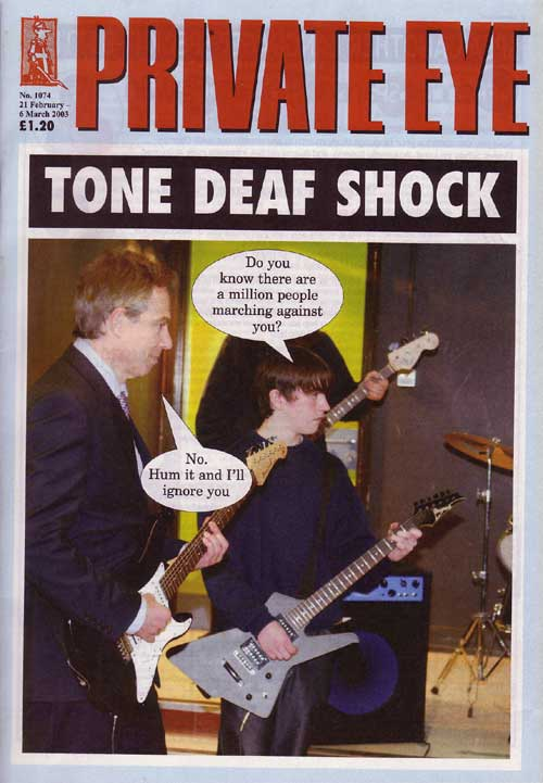 Private Eye cover 1074