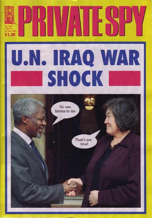 Kofi Annan Clare Short