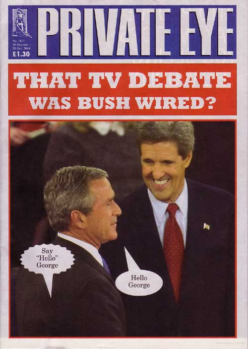 George W Bush John Kerry