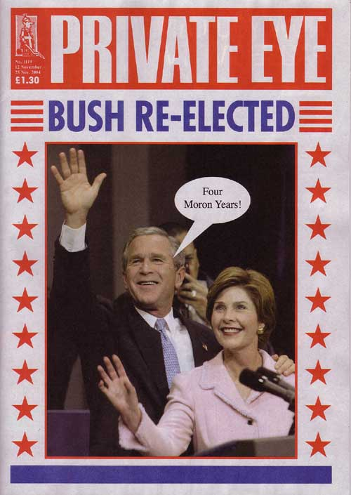 George W Bush Laura Bush
