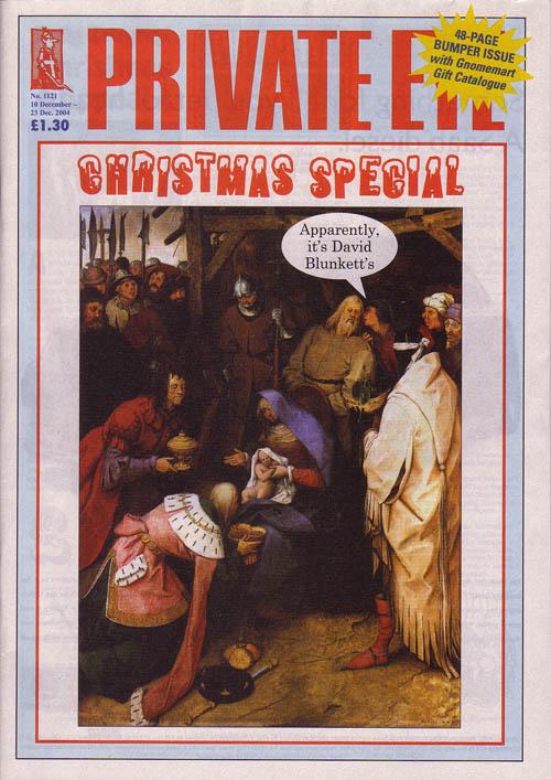 Christmas David Blunkett