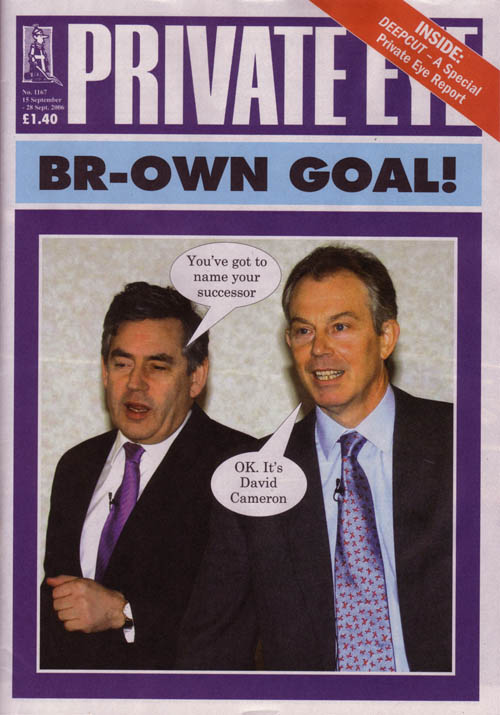 Gordon Brown Tony Blair