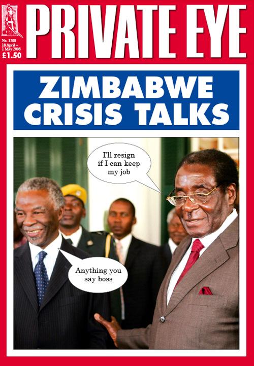 Robert Mugabe Thabo Mbeki