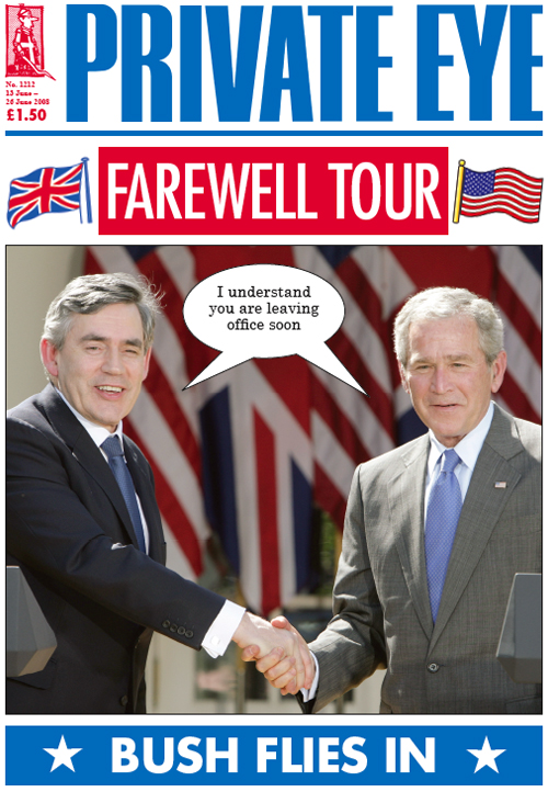 Gordon Brown George W Bush