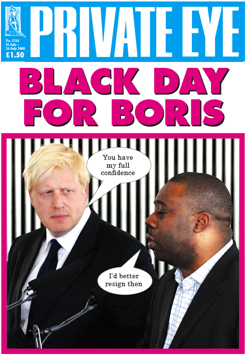 Boris Johnson Ray Lewis