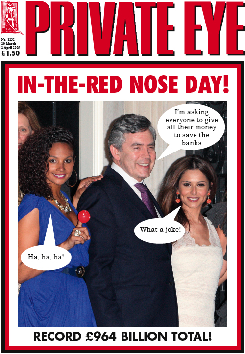 Gordon Brown Cheryl Cole Alesha Dixon