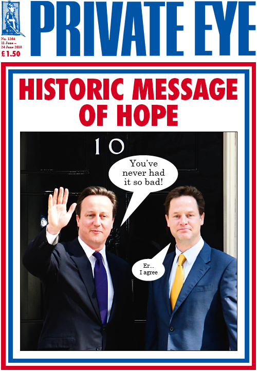 David Cameron Nick Clegg