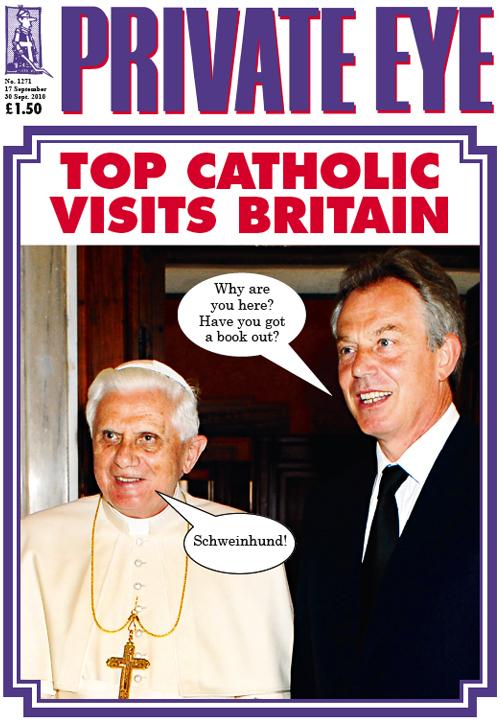 Pope Benedict XVI Tony Blair