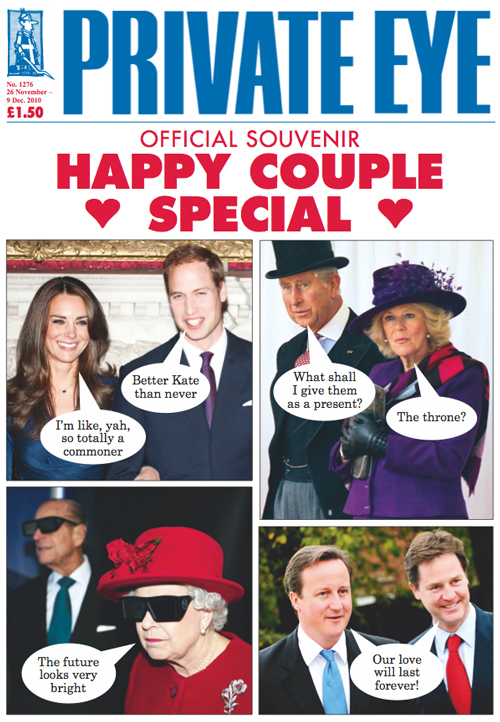 Kate Middleton Prince William Prince Charles Camilla Parker Bowles The Queen Prince Philip David Cameron Nick Clegg
