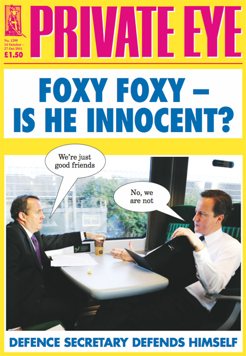 Liam Fox David Cameron