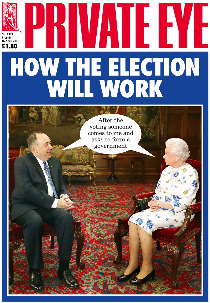 Alex Salmond The Queen