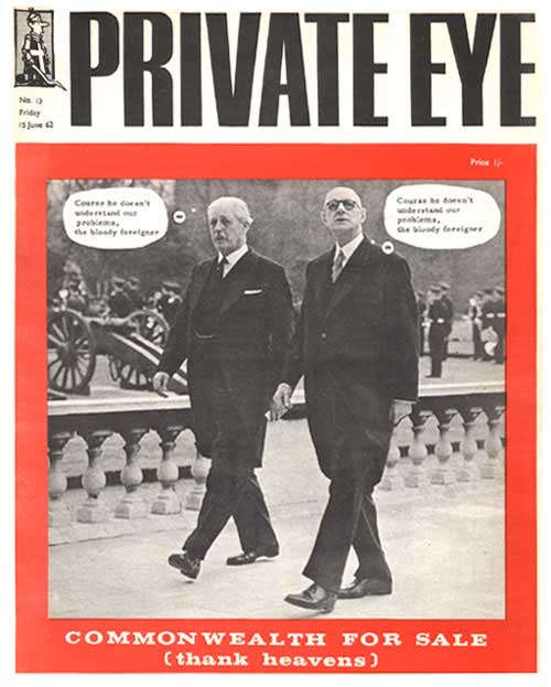 Harold Macmillan Charles De Gaulle