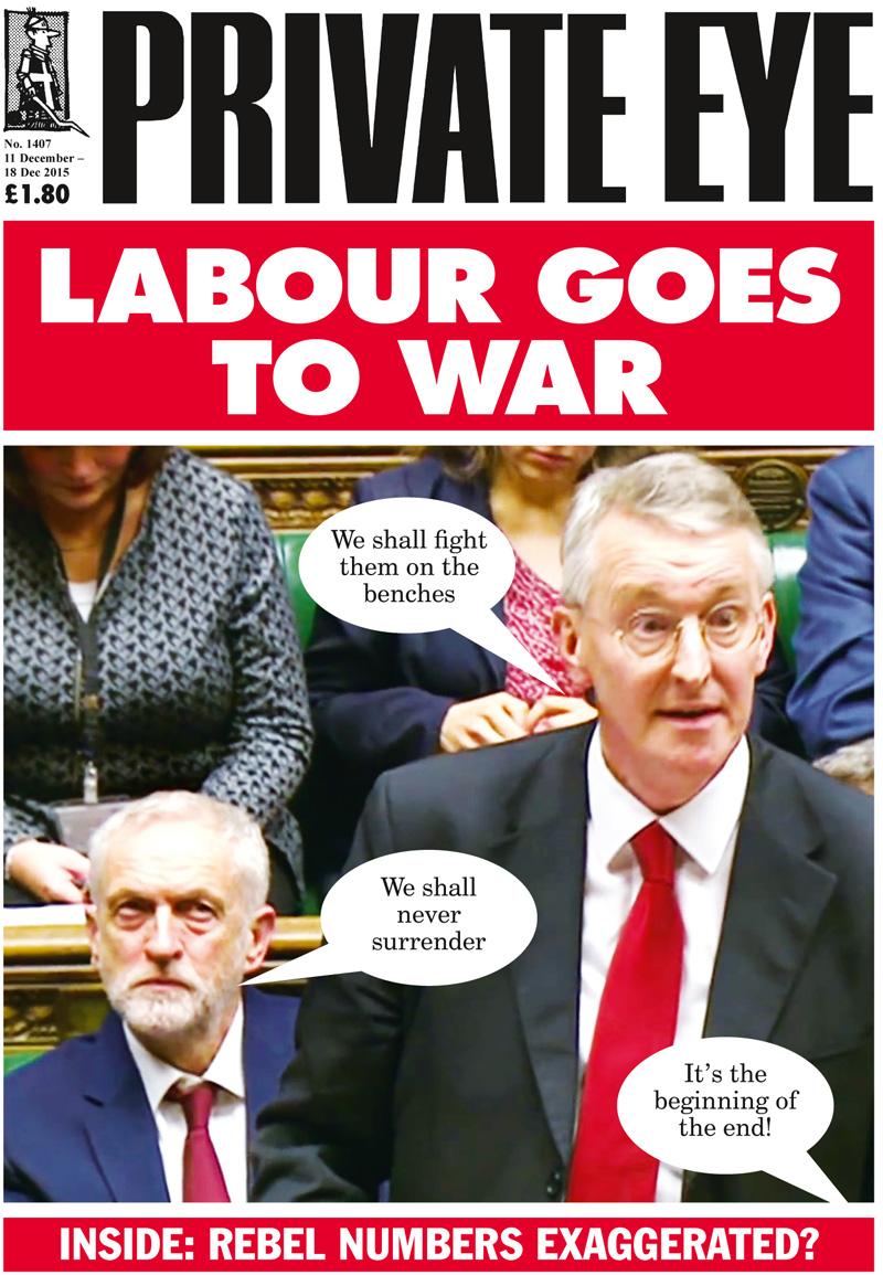 Hilary Benn Jeremy Corbyn