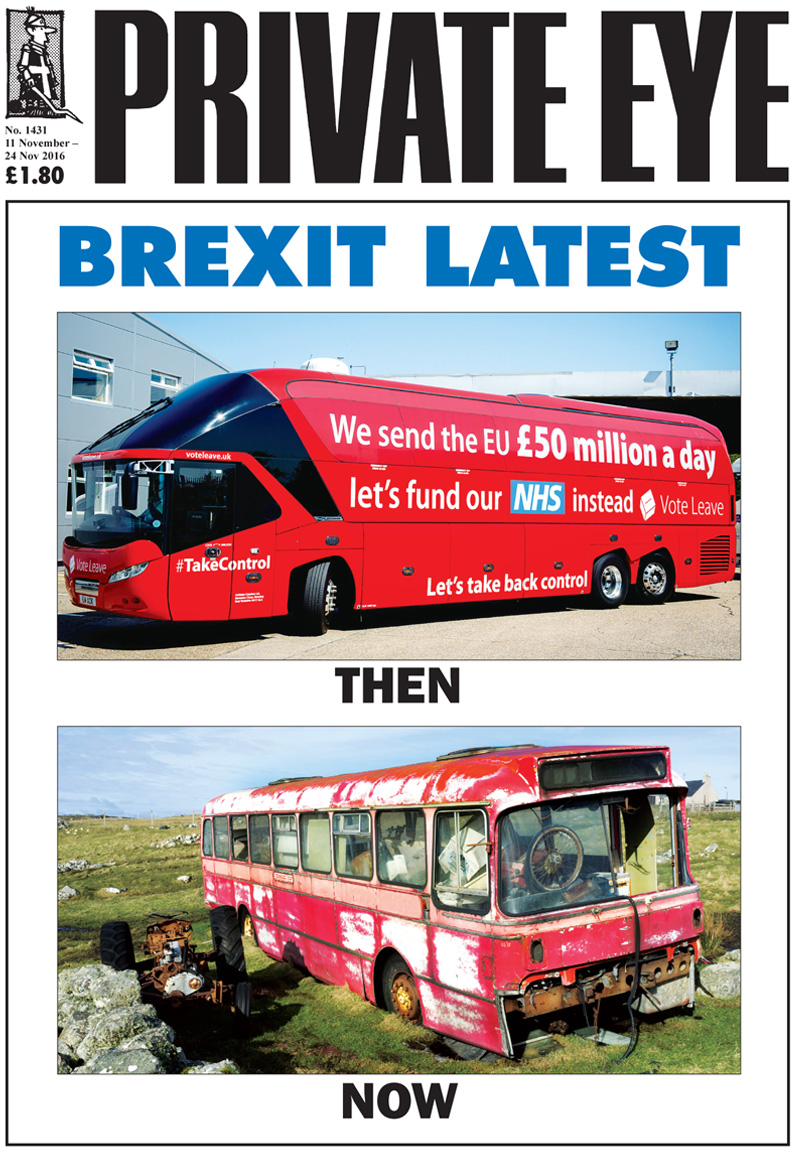 Private Eye Issue 1431
