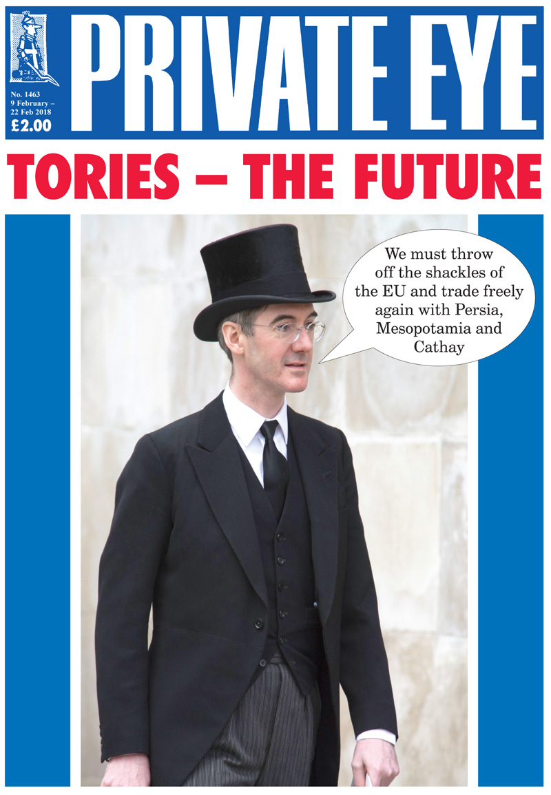 Private Eye cover Jacob+Rees-Mogg