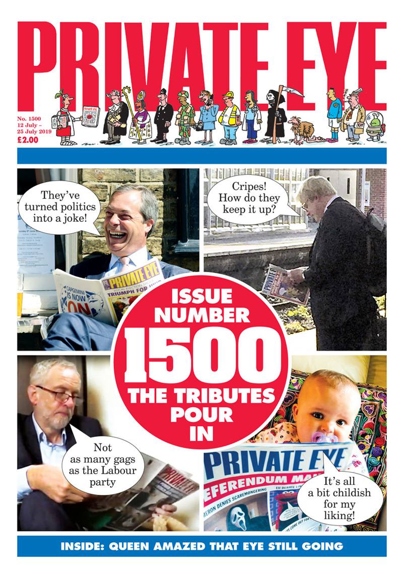 Private Eye Issue 1500
