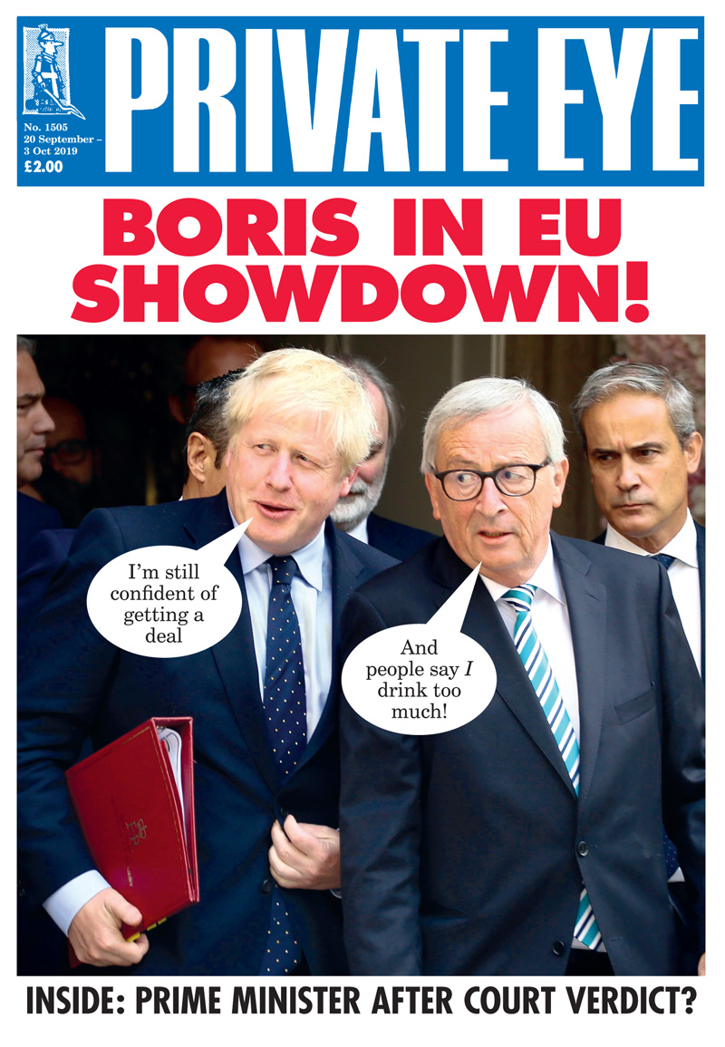 Boris Johnson Jean-Claude Juncker