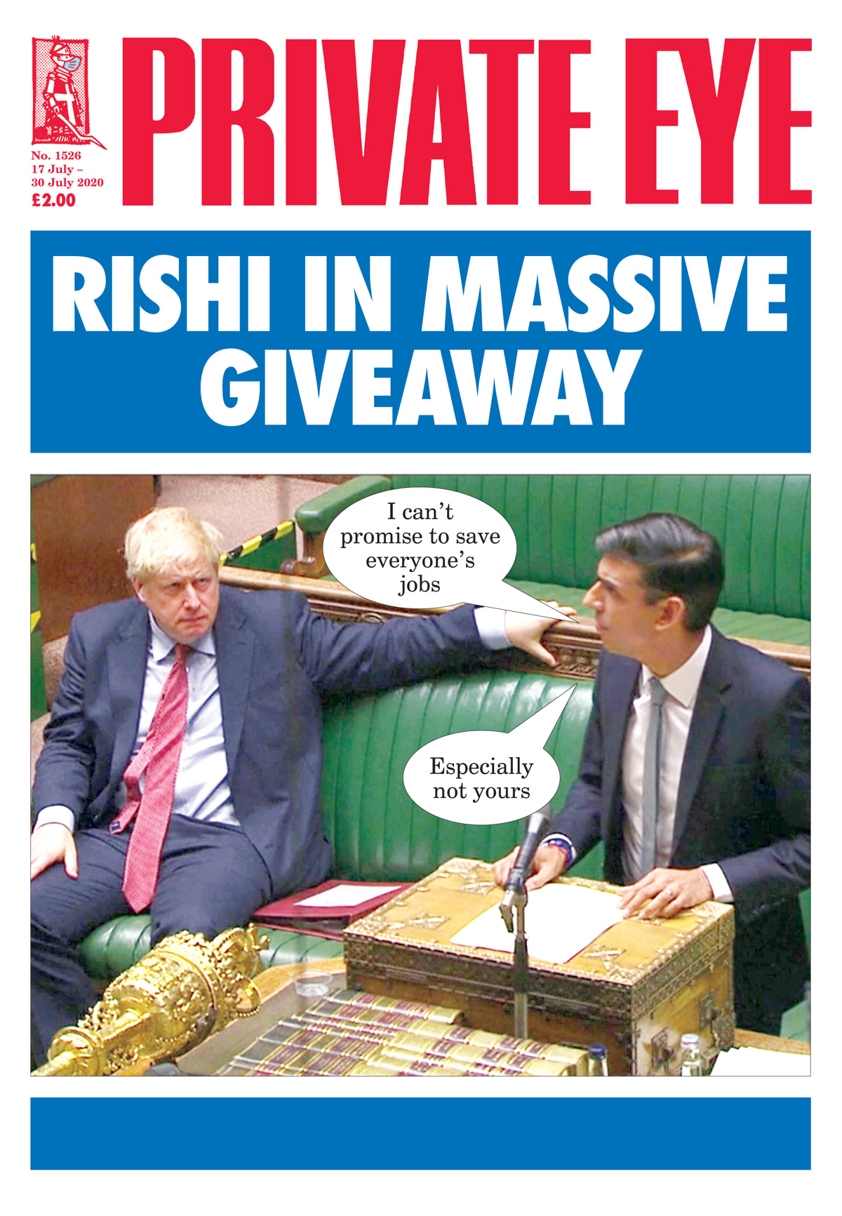 Private Eye Issue 1526