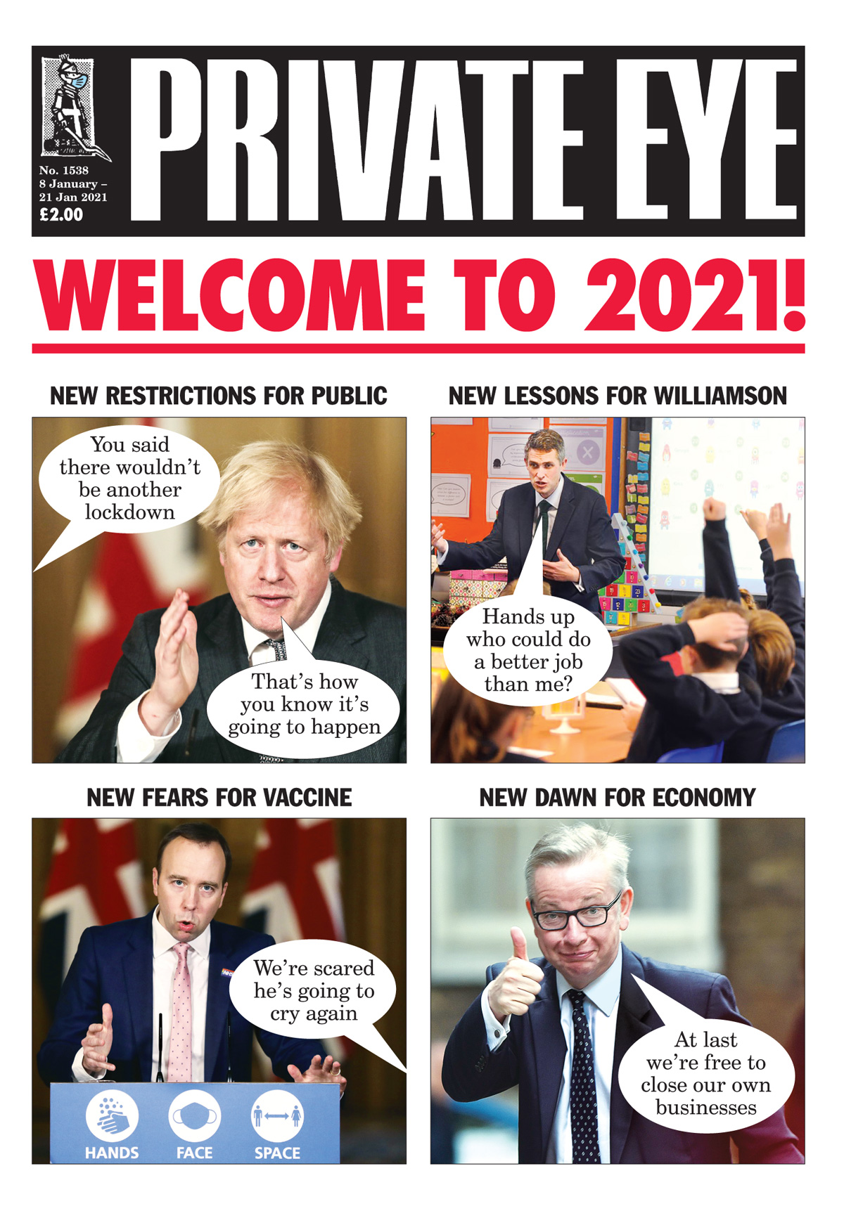 Boris Johnson Gavin Williamson Michael Gove Matt Hancock