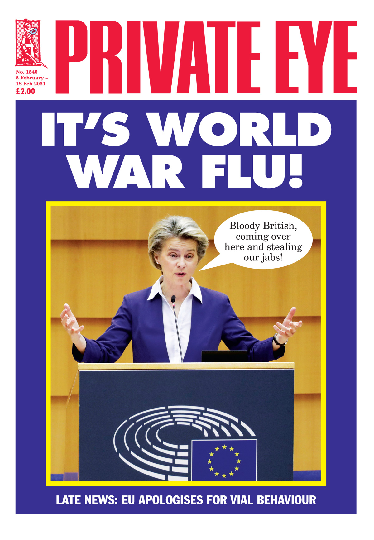 Private Eye Issue 1540