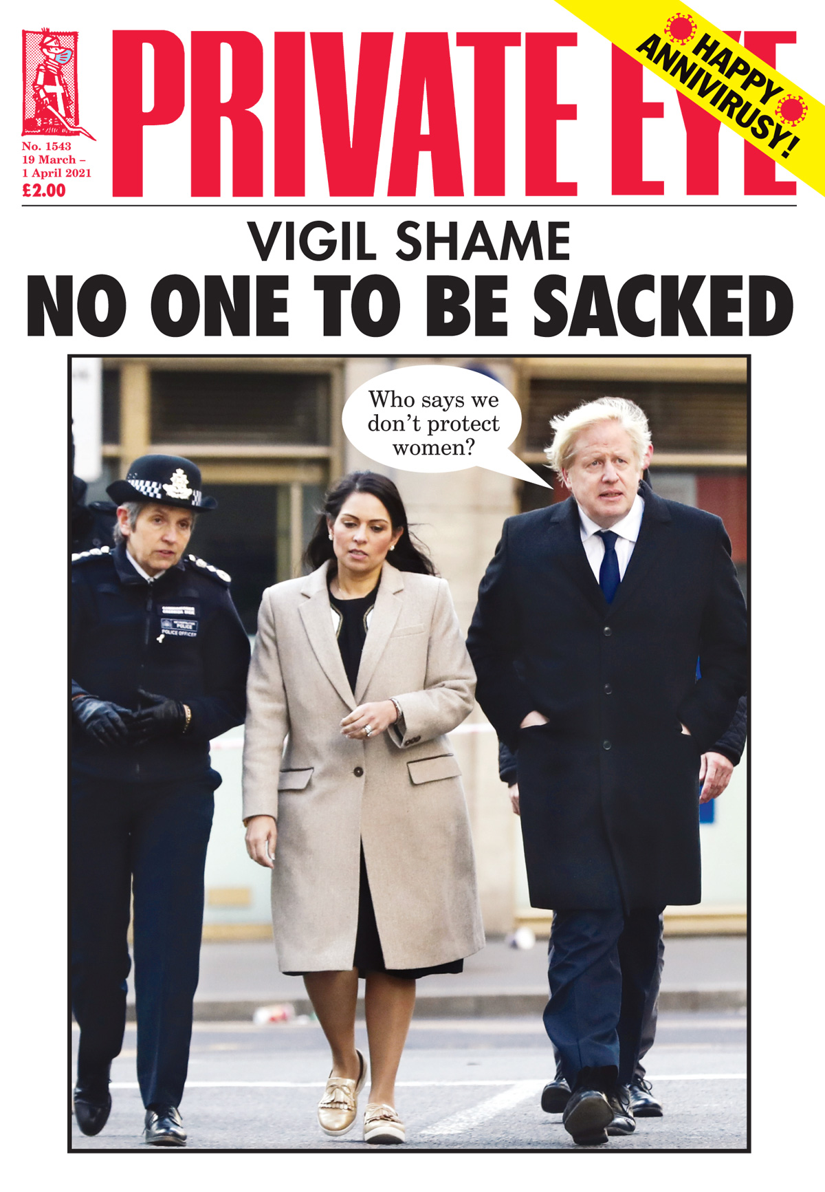 Boris Johnson Priti Patel Cressida Dick