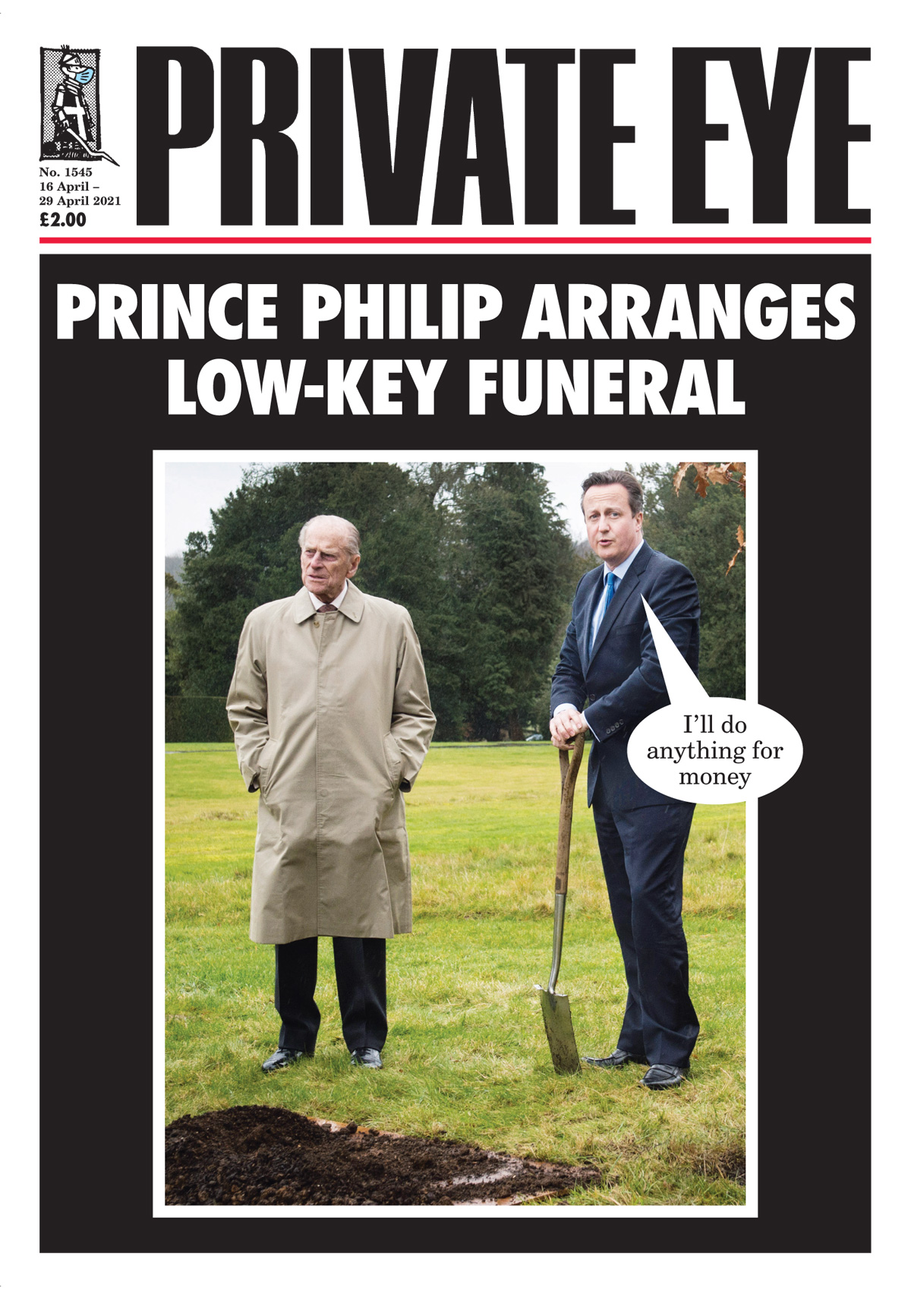 Prince Philip David Cameron