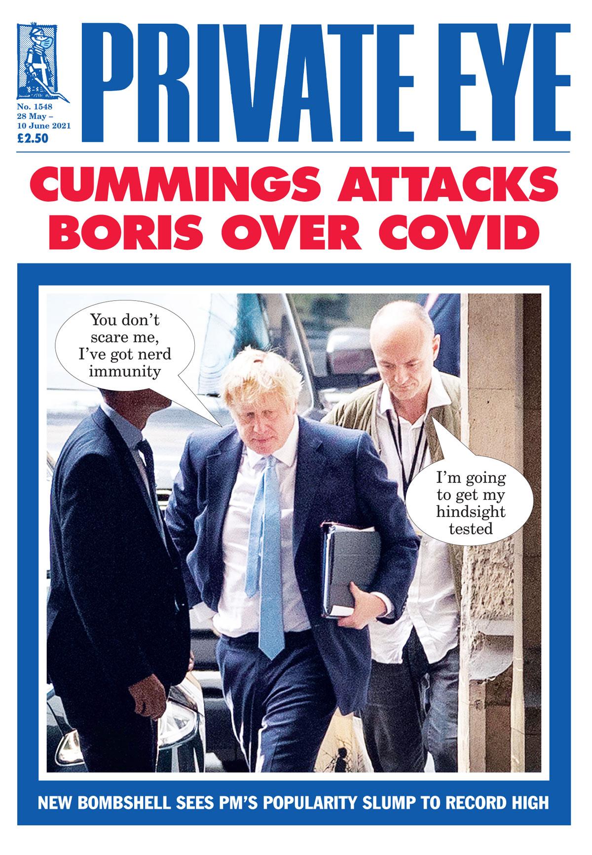 Boris Johnson Dominic Cummings