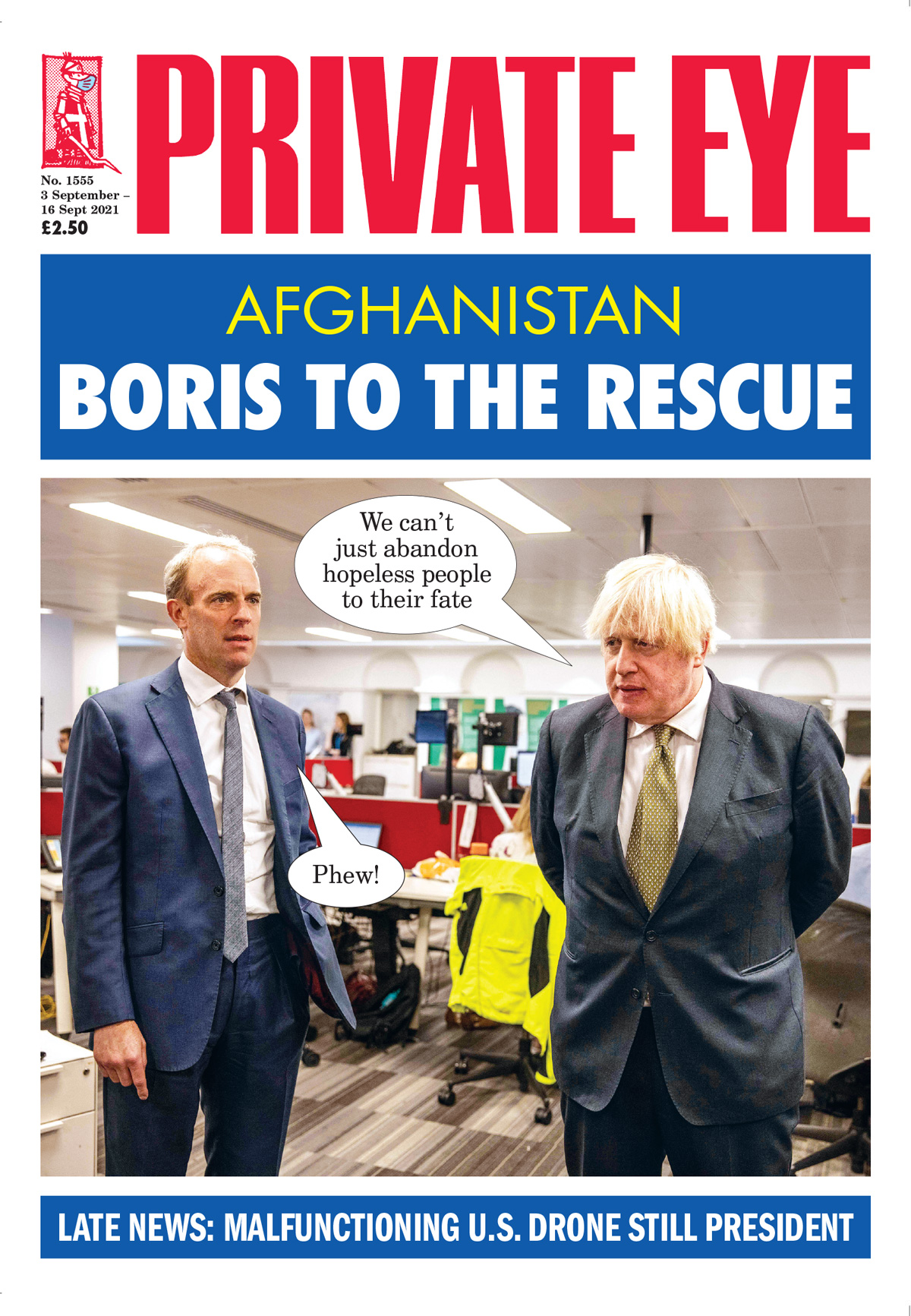 Private Eye Issue 1555
