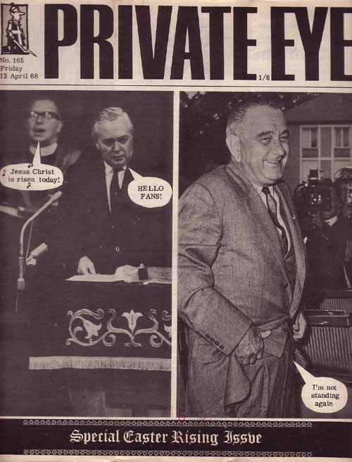 Harold Wilson Lyndon B Johnson