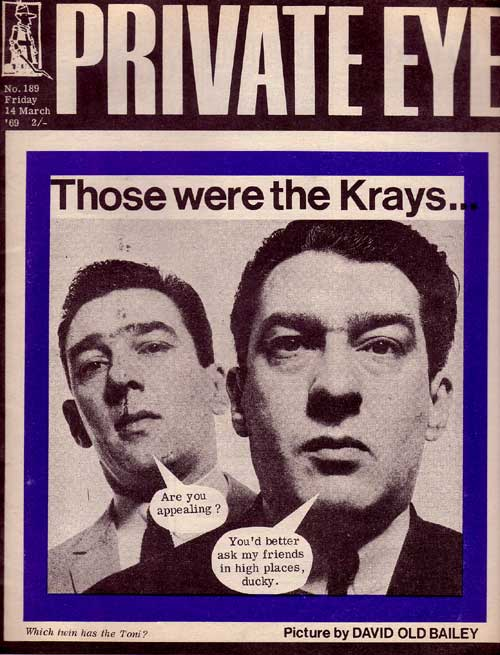 Ronnie Kray Reggie Kray