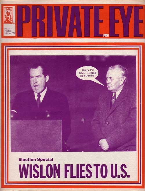 Harold Wilson Richard Nixon