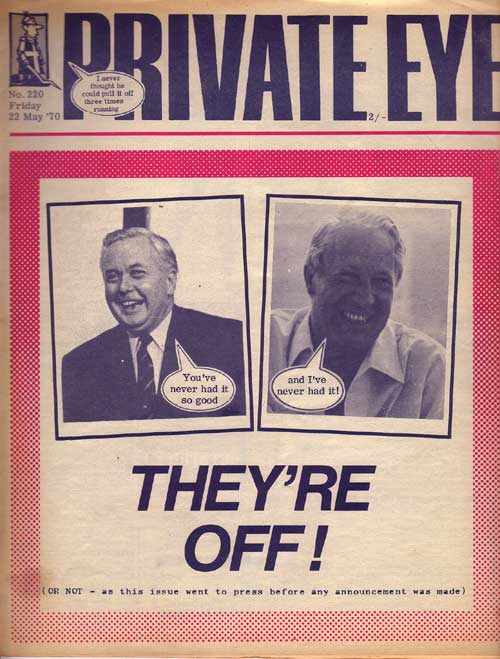Ted Heath Harold Wilson