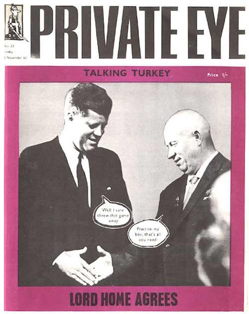 John F Kennedy Nikita Khrushchev