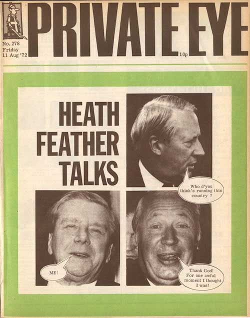 Ted Heath Vic Feather
