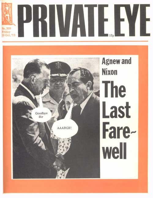 Spiro Agnew Richard Nixon