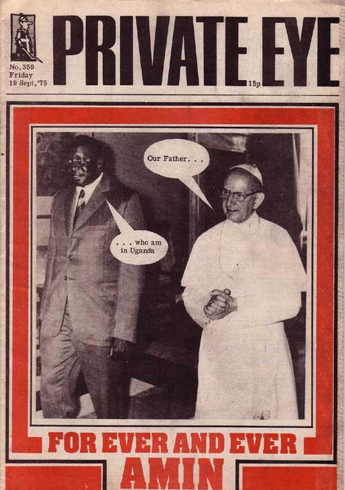 Idi Amin Pope Paul VI