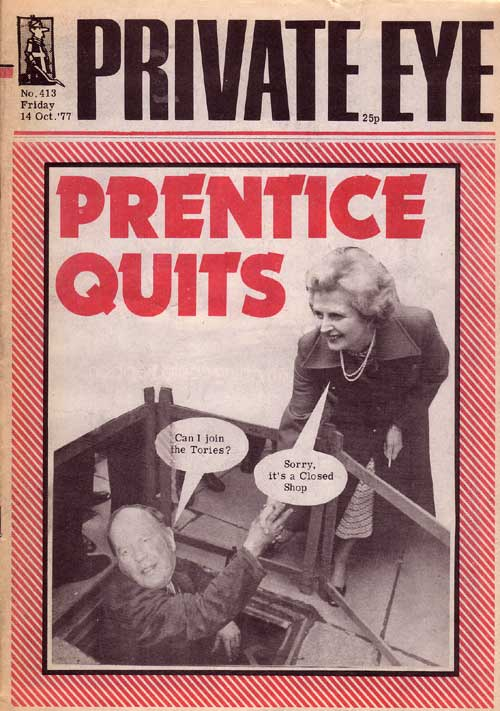 Reg Prentice Margaret Thatcher