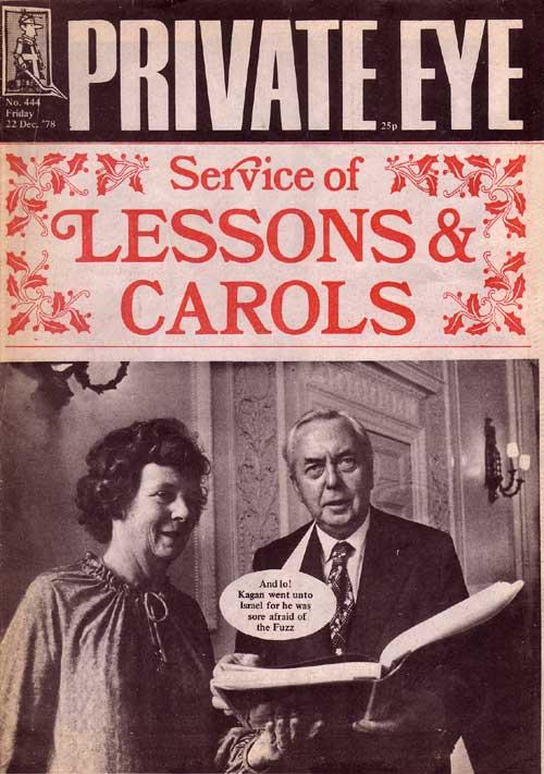 Mary Wilson Harold Wilson Christmas