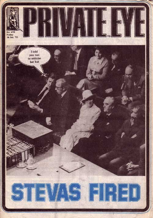 Margaret Thatcher Willie Whitelaw Geoffrey Howe Norman St John-Stevas