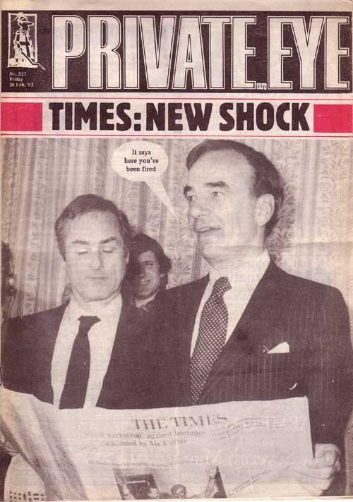 Rupert Murdoch Harold Evans