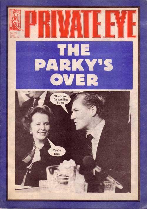Margaret Thatcher Cecil Parkinson